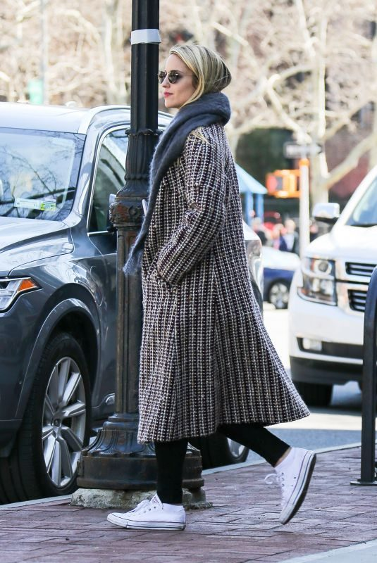 DIANNA AGRON Out in New York 04/20/2018