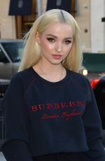 DOVE CAMERON at Burberry x Elle Celebrate Personal Style with Julien Boudet in Los Angeles 04/18/2018