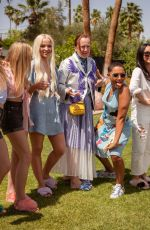 DOVE CAMERON at Festival Kick-off Brunch by Ugg at Coachella Festival 04/13/2018