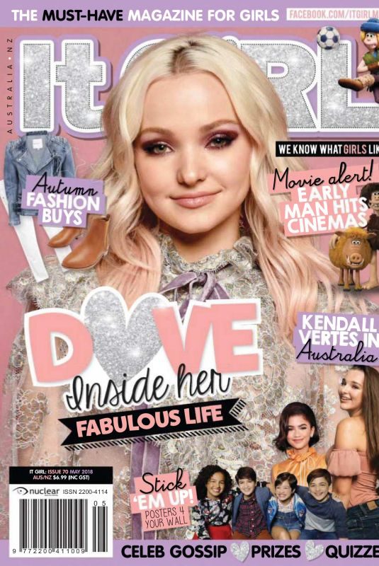 DOVE CAMERON in It Girl Magazine, May 2018