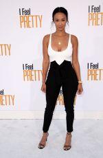 DRAYA MICHELE at I Feel Pretty Premiere in Los Angeles 04/17/2018