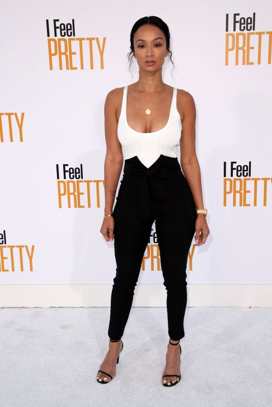 DRAYA MICHELE at I Feel Pretty Premiere in Los Angeles 04/17/2018