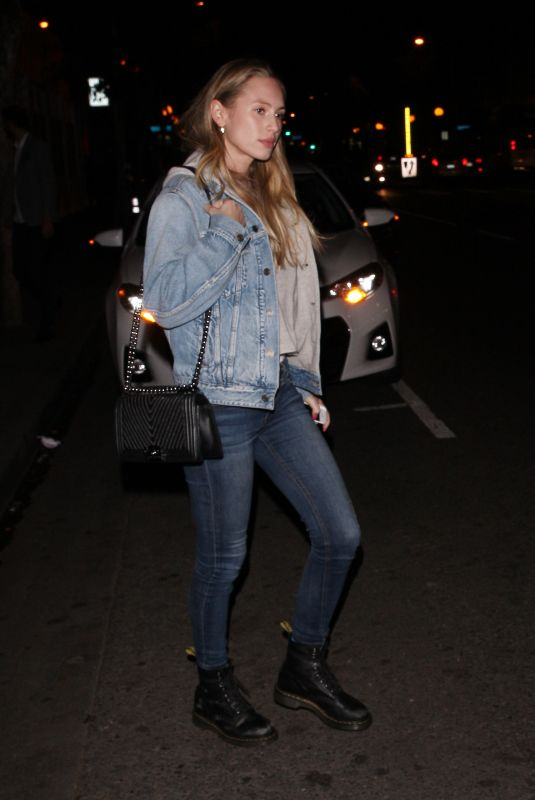 DYLAN PENN at Delilah in West Hollywood 04/19/2018
