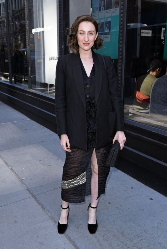 EDEN EPSTEIN at Build Series in New York 04/23/2018