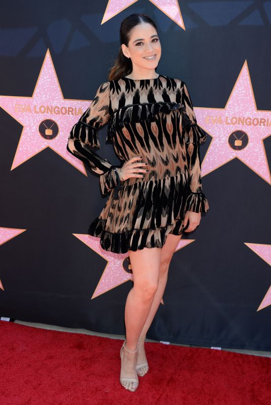 EDY GANEM at Eva Longoria Hollywood Walk of Fame Ceremony in Los Angeles 04/16/2018
