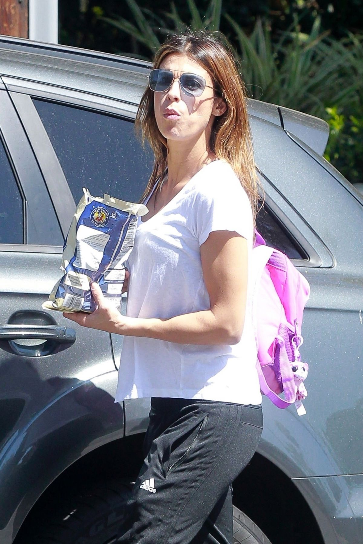 ELISABETTA CANALIS Leaves Trader Joe's in West Hollywood 04