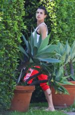 ELISABETTA CANALIS Outside Her House in Los Angeles 03/29/2018