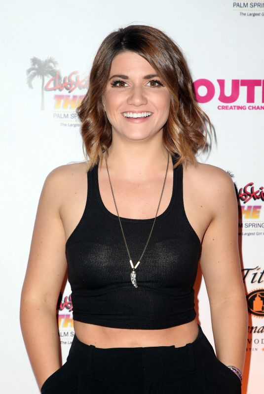 ELISE BAUMAN at Club Skirts Presents the Dinah Shore the Hollywood Party in Palm Springs 03/31/2018