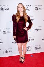 ELIZA DUSHKU at Mapplethorpe Premiere at Tribeca Film Festival in New York 04/22/2018