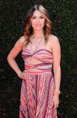 ELIZABETH HENDRICKSON at Daytime Emmy Awards 2018 in Los Angeles 04/29/2018