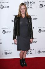 ELIZABETH MASUCCI at All About Nina Premiere at Tribeca Film Festival in New York 04/22/2018