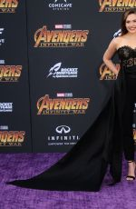 ELIZABETH OLSEN at Avengers: Infinity War Premiere in Los Angeles 04/23/2018