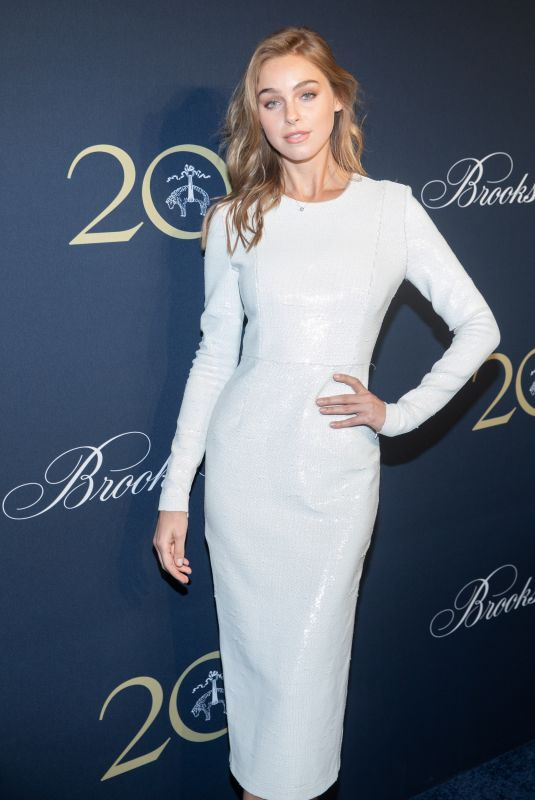 ELIZABETH TURNER at Brooks Brothers Bicentennial Celebration in New York 04/25/2018