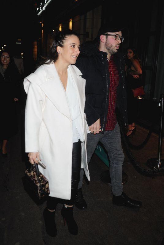 ELLA JADE Night Out in London 03/31/2018
