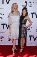 ELLA PURNELL at Sweetbitter Premiere at Tribeca Film Festival 04/26/2018