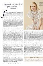 ELLE FANNING in Glamour Magazine, April 2018