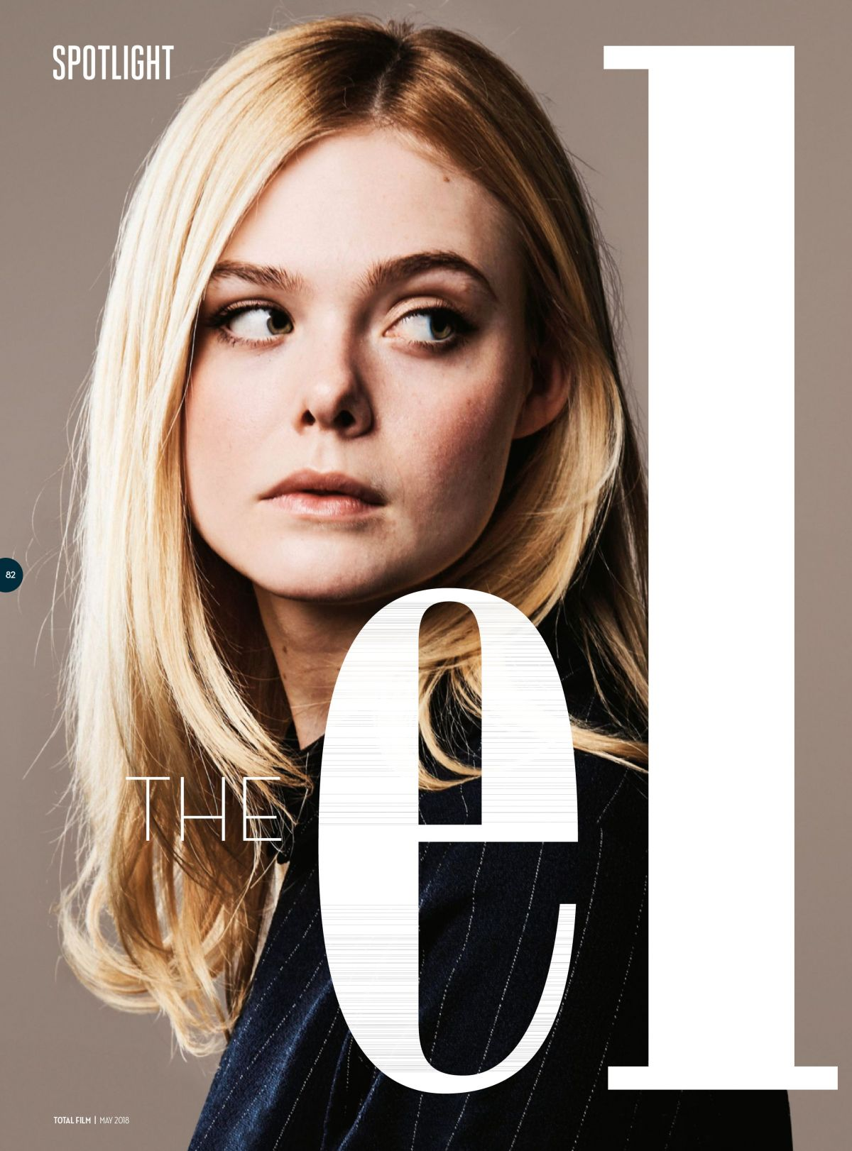 May 2018 Free Pdf Magazine Download: ELLE FANNING In Total Film Magazine, May 2018 Issue