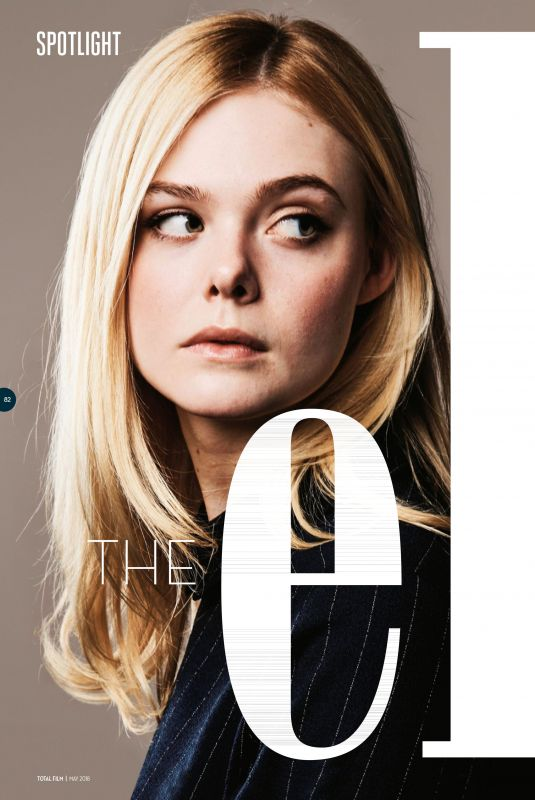 ELLE FANNING in Total Film Magazine, May 2018 Issue