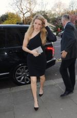 ELLIE GOULDING Arrives at Fashioned for Nature Exhibition in London 04/18/2018