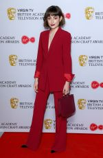 ELLISE CHAPPELL at British Academy Television and Craft Awards Nominees Party in London 04/19/2018