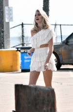 ELSA HOSK at a Photoshoot in Los Angeles 04/08/2018