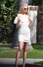 ELSA HOSK on the Set of a Photoshoot in Los Angeles 04/16/2018