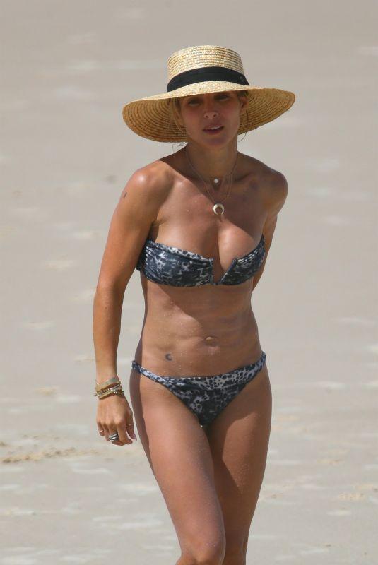 ELSA PATAKY in Bikini at a Beach in Byron Bay 04/01/2018