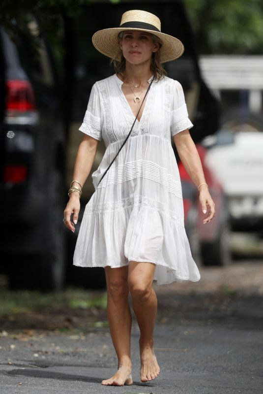 ELSA PATAKY Out and About in Byron Bay 03/29/2018