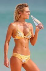 ELYSE KNOWLES in Bikini on the Set of a Photoshoot on Bondi Beach 04/09/2018