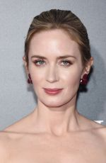 EMILY BLUNT at A Quiet Place Premiere in New York 04/02/2018