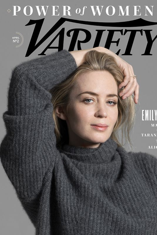 EMILY BLUNT for Variety Power of Women NY, April 2018 Issue