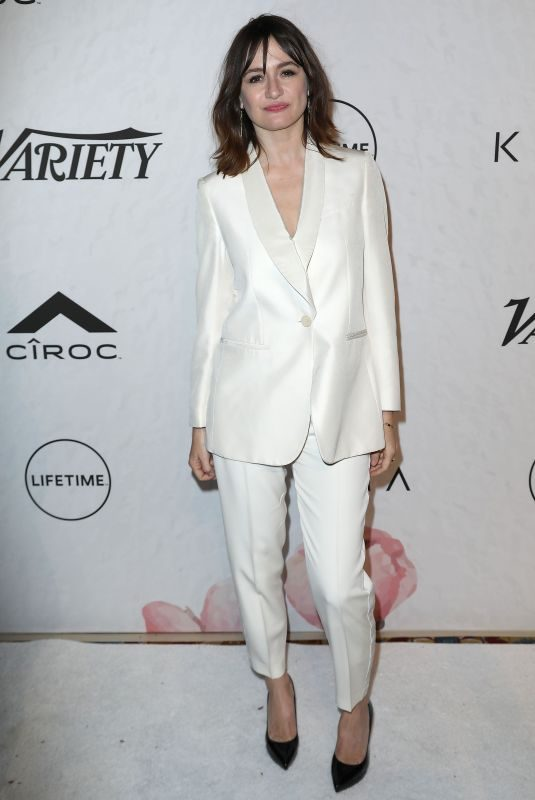 EMILY MORTIMER at Variety Power of Women in New York 04/13/2018