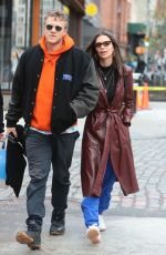 EMILY RATAJKOWSKI and Sebastian Bear-McClard Out in New York 04/07/2018