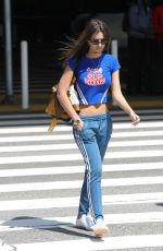 EMILY RATAJKOWSKI at LAX Airport in Los Angeles 04/08/2018