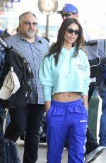 EMILY RATAJKOWSKI at Los Angeles International Airport 04/12/2018