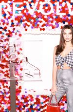 EMILY RATAJKOWSKI at Revolve Festival Welcome Reception in Palm Springs 04/12/2018