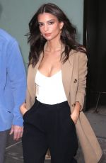 EMILY RATAJKOWSKI at Today Show in New York 04/10/2018