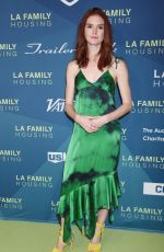 EMILY TYRA at LA Family Housing Event Awards in Los Angeles 04/05/2018