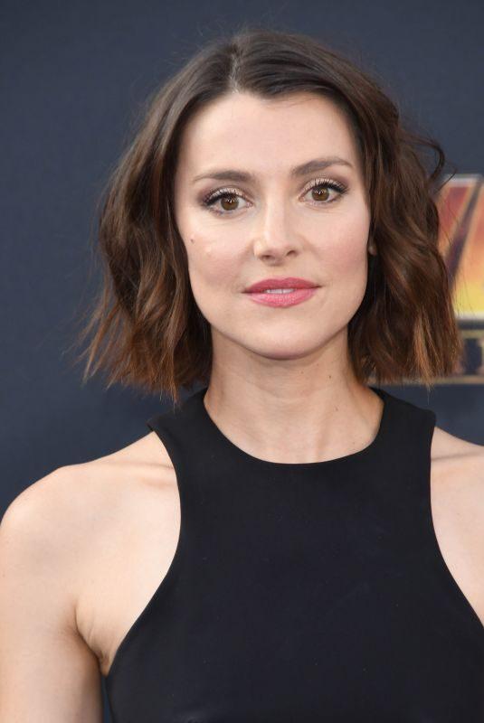 EMMA LAHANA at Avengers: Infinity War Premiere in Los Angeles 04/23/2018