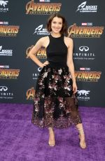 EMMA LAHANA at Avengers: Infinity War Premiere in Los Angeles 04/23/2018