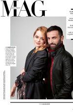 EMMA STONE in Madame Figaro Magazine, 2018