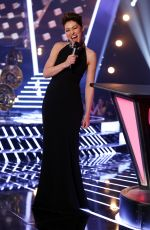 EMMA WILLIS at The Voice UK Show in London 03/31/2018