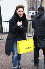 EMMA WILLIS Leaves ITV Studio in London 04/04/2018