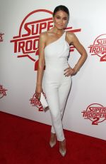 EMMANUELLE CHRIQUI at Super Troopers 2 Premiere in Hollywood 04/11/2018
