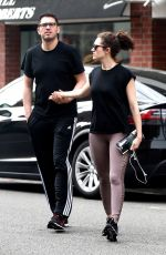 EMMY ROSSUM Out and About in Beverly Hills 04/01/2018