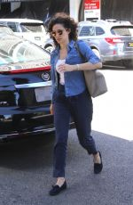 EMMY ROSSUM Out and About in Beverly Hills 04/16/2018