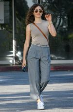 EMMY ROSSUM Out and About in Los Angeles 04/24/2018