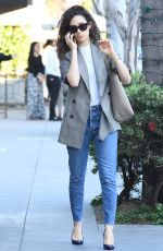 EMMY ROSSUM Out and About in Los Angeles 04/26/2018