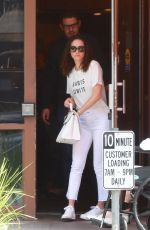 EMMY ROSSUM Out for Lunch in Beverly Hills 04/29/2018