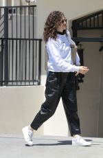 EMMY ROSSUM Out in Beverly Hills 04/20/2018
